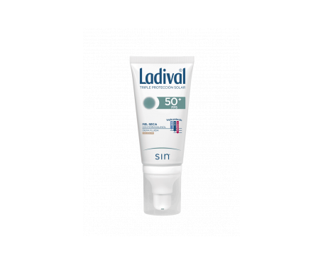 Ladival® pieles secas SPF50+ crema fluida con color 50ml