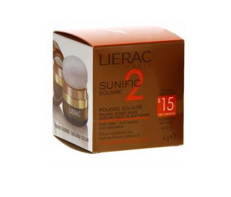 Lierac Sunific 2 SPF15+ polvos solares 6g