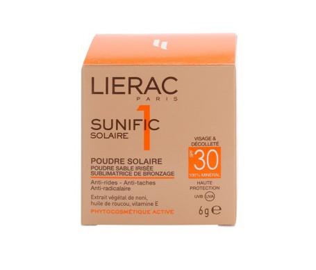 Lierac Sunific SPF30+ solar powder 6g