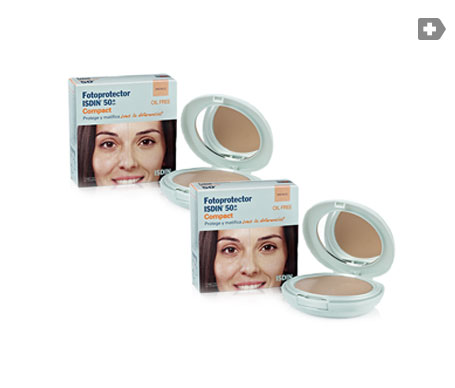 Isdin™ Fotoprotector Compact bronce sans huile SPF50+ 10g+10g+10g