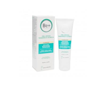 Be+ Reguladora Matificante emulsión piel grasa tendencia acneica 50ml