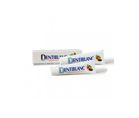 Dentiblanc pasta dental blanqueador intensivo 100ml+100ml