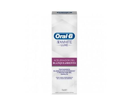 Oral-B 3D White Luxe acelerador del blanqueamiento 75ml
