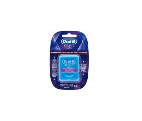 Oral-B 3D White Luxe seda dental 35m