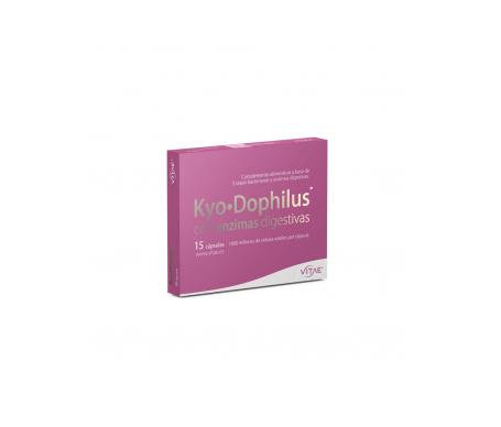 Vitae Kyodophilus con enzimas digestivas 15cáps