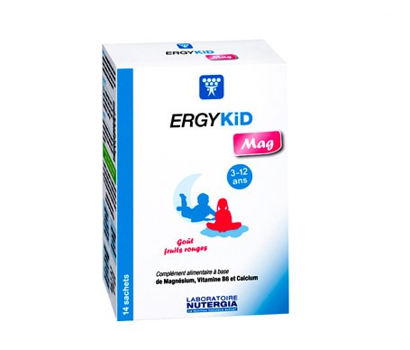 Nutergia Ergykid Mag 14 sobres