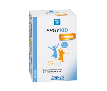 Nutergia Ergykid Vitamin 14 sobres