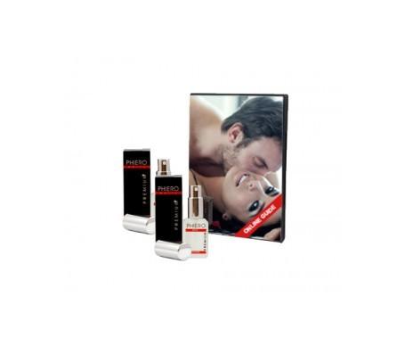 Phiero Premium hombre pulverizador 30ml+30ml + OBSEQUIO