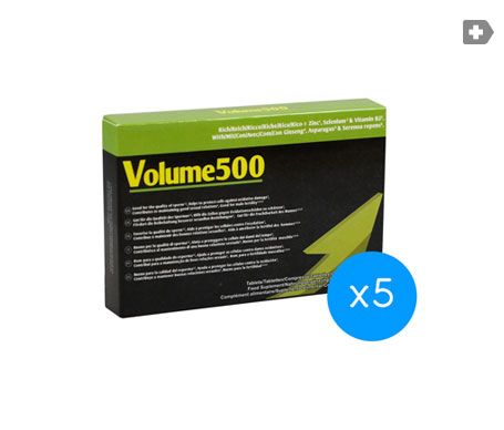 Volume500 pastillas 5x30comp