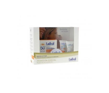 Ladival® maquillaje compacto dorado SPF50+ 10g + 3 miniaturas