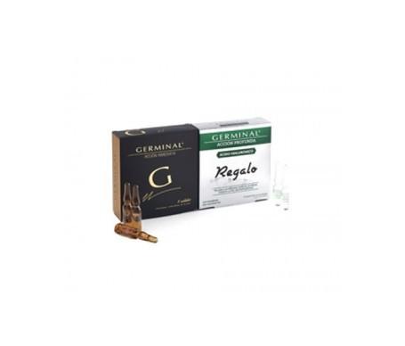 Germinal Pack Acción Inmediata 5 ampollas + acción profunda ácido hialurónico 5 ampollas de regalo