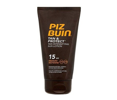 Piz Buin® Tan&Protect SPF15+ loción solar proteccion Media 150ml