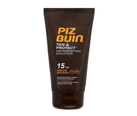 Piz Buin® Tan&Protect SPF15+ loción solar proteccion Media 150ml