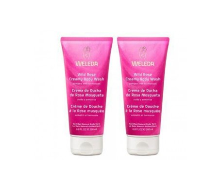 WELEDA DUO DUCHA ROSA 200 ml + 200ml