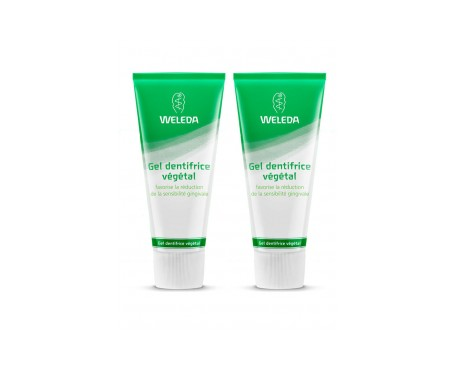 Weleda gel dentífrico vegetal 75ml+75ml