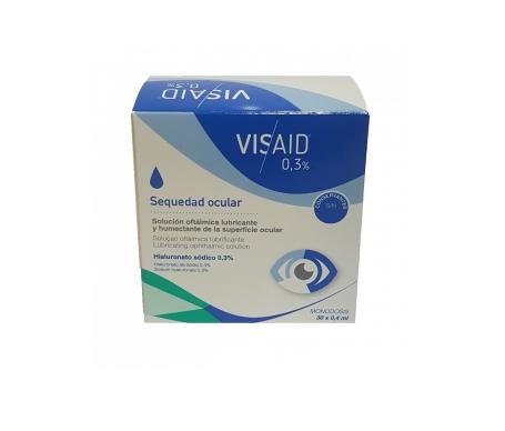 Visaid 0,3% gotas oculares estériles 0,4ml x 30uds