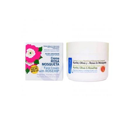 Saluvital Rose Hip Oil Facial Cream 50ml + Shea Butter Body Cream 50ml