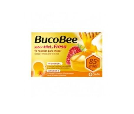 Bucobee miel y fresa 10past