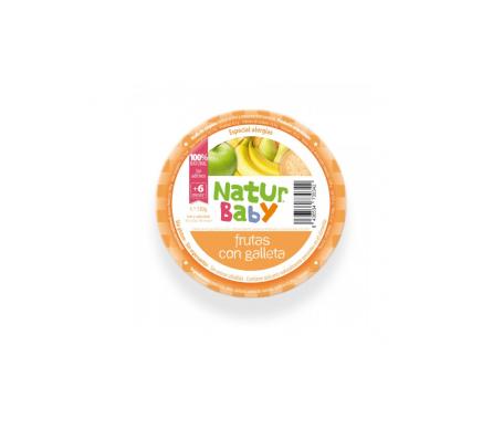 Natur Baby Frutas Con Galleta S/alergias 130g