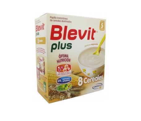 Blevit Plus 8 cereales biberón 600g