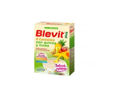 Blevit Plus 8 cereales quinoa y fruta 300g