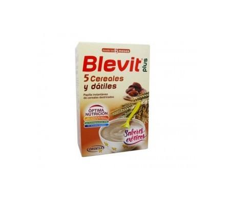 Blevit Plus 5 cereales y dátiles 300g