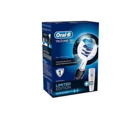 Oral-B Trizone 750 cepillo eléctrico negro 1ud