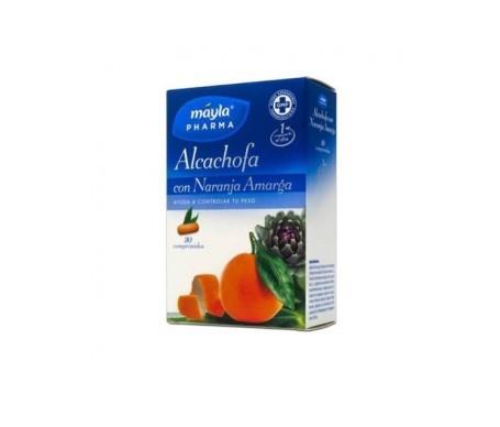 Mayla alcachofa con naranja amarga 30comp