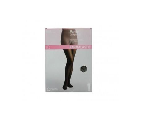 Farmalastic panty complet compresión ligera 40 DEN T-pequeña negro 1ud
