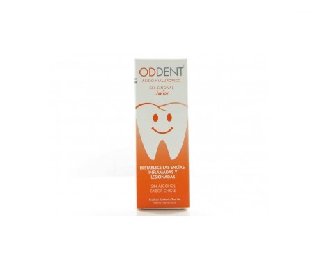 Oddent® Junior gel gingival ácido hialurónico 15ml