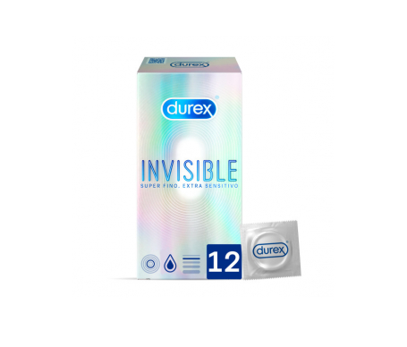 Durex® Invisible extra fino extra sensitivo 12uds