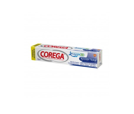 Corega® Acción Total crema fijadora 70g