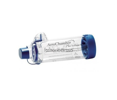 Aerochamber Plus Flow-Vu cámara de inhalación 1ud