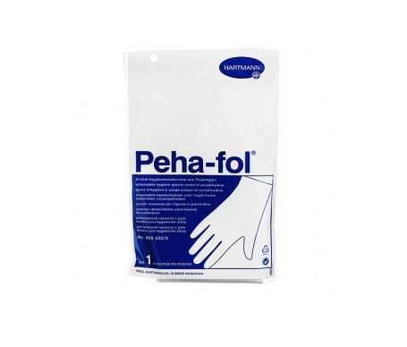 Peha-fol guantes polietileno Talla 1 100uds