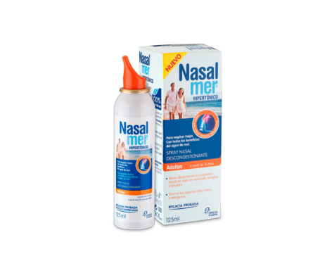 Nasalmer® spray nasal hipertónico adulto 125ml