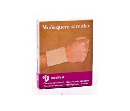 Medilast muñequera circular T-M 1ud