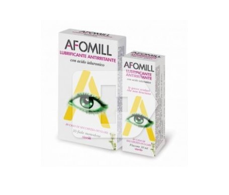 Afomill lubricante 10uds