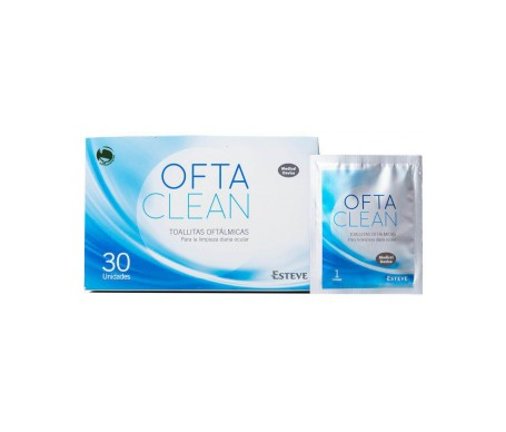 Oftaclean toallitas un solo uso 30uds
