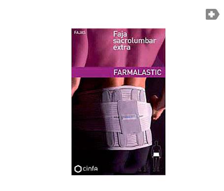 Farmalastic faja sacrolumbar extra gris T-2 1ud