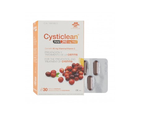 Cysticlean® forte 30cáps
