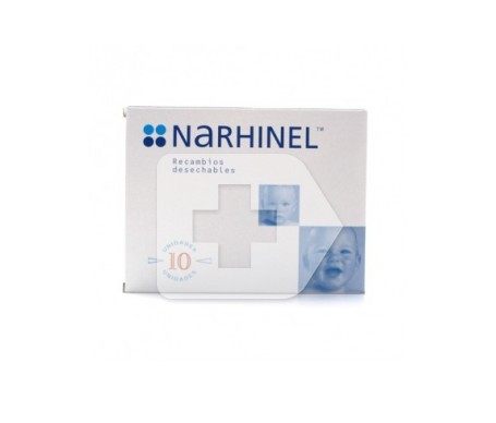 Narhinel recambios 10uds