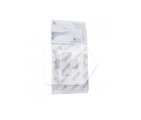 Genové guantes dermatológico algodón T-mediana 2uds