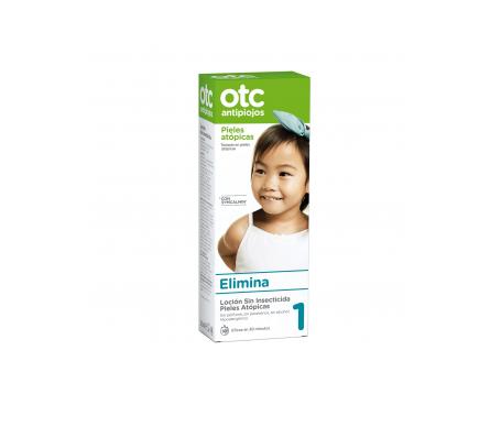 OTC loción antipiojos pieles atópicas 125ml