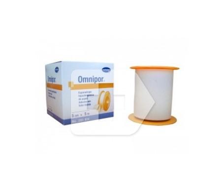 Omnipor esparadrapo hipoalergénico de papel 5cmx5m
