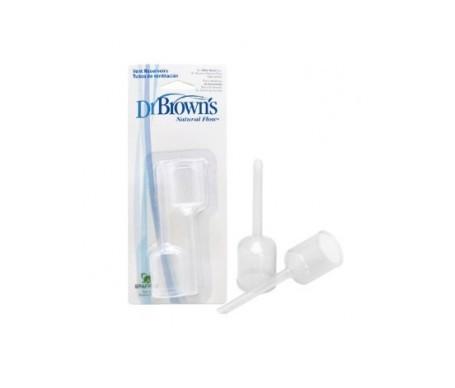 Dr. Brown's tubos de ventilación boca ancha 2uds