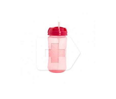 Dr Brown's vaso con pajita rosa 1u
