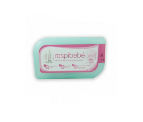 Respibebé kit completo aspirador nasal bebé