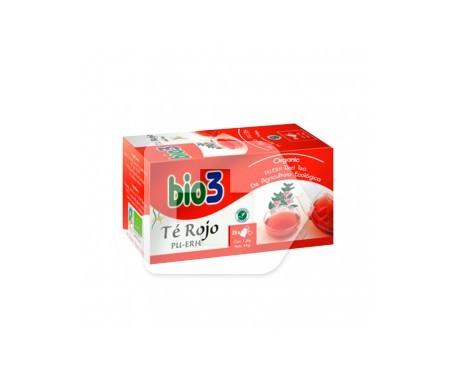 Bio3 té rojo 1,5g 100 filtros