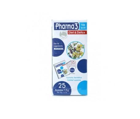 Pharma3 Diet & Detox  25 infusiones