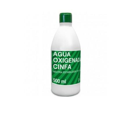 Cinfa agua oxigenada 500ml